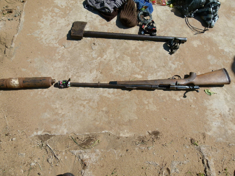 Illegal Firearms and RHino Poaching Tools